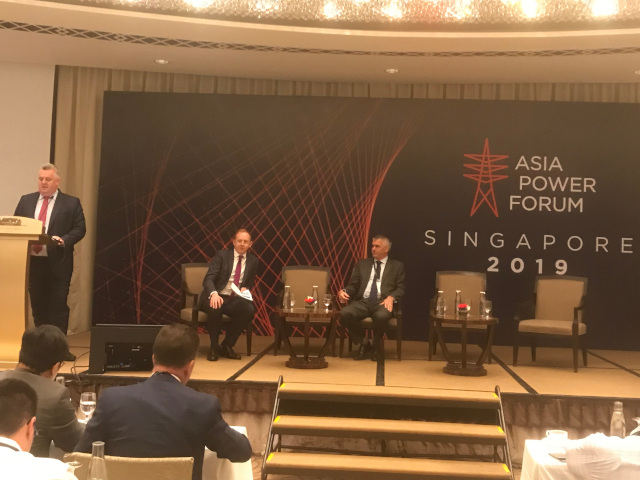 Ben Adams Presenting at the Asia Power Forum